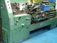 AFM gap bed centre lathe with equipment
